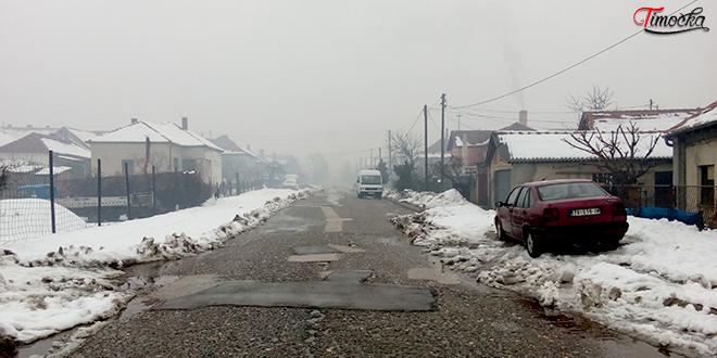 Bregalnička ulica — Zima