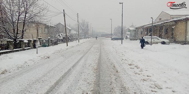 Čupićeva ulica — Zima