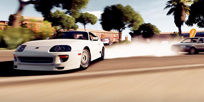 Gaming Toyota Supra