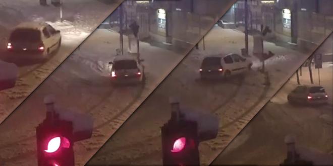 Vozač udario u semafor — Identifikovan