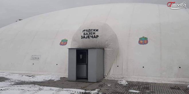 Gradski bazen Zaječar — Zima