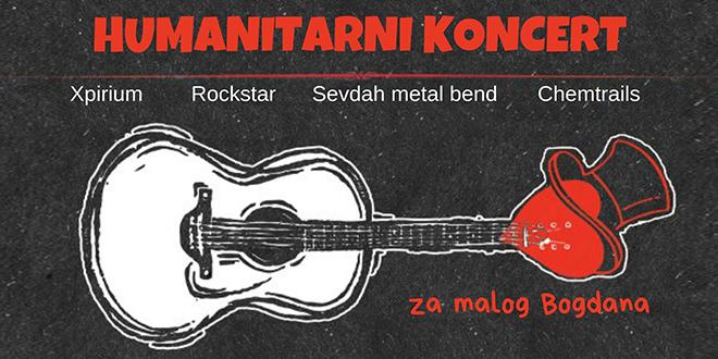Humanitarni koncert za malog Bogdana Gicovića