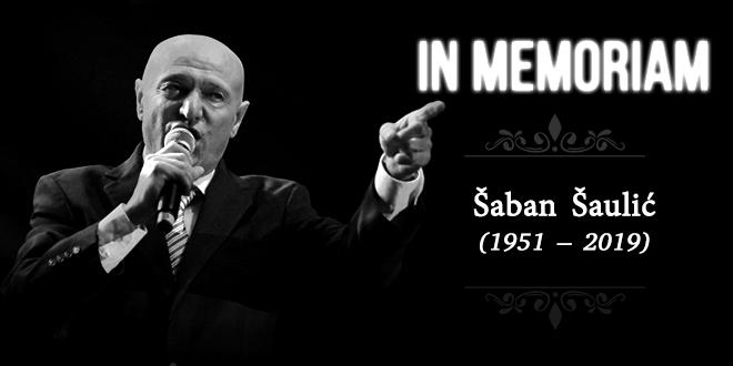 In Memoriam — Šaban Šaulić (1951–2019)