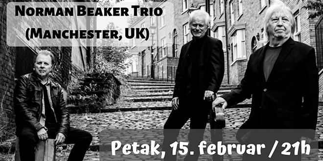 Norman Beaker Trio (UK) — Уживо у Омладинском центру