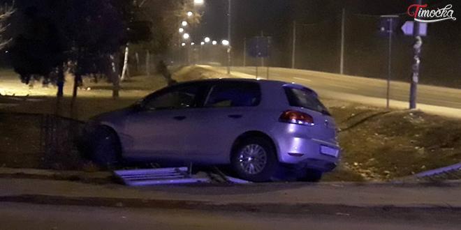 Saobraćajna nezgoda na Šljivarskom putu