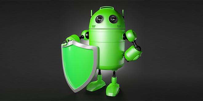 Андроид чувар са штитом