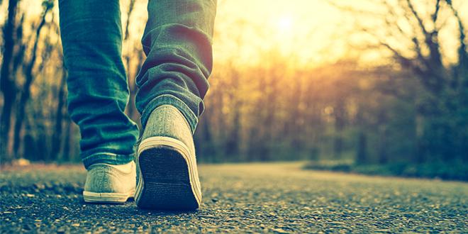 Девојка шета