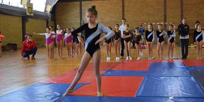Gimnastičarka Teodora Lapadatović