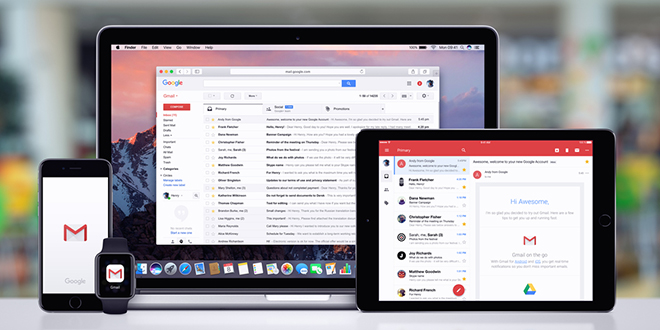 Gmail на разним уређајима