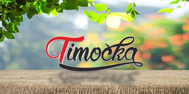 """Лого """"Тимочка"""" на празном столу — Пролећни дан"""