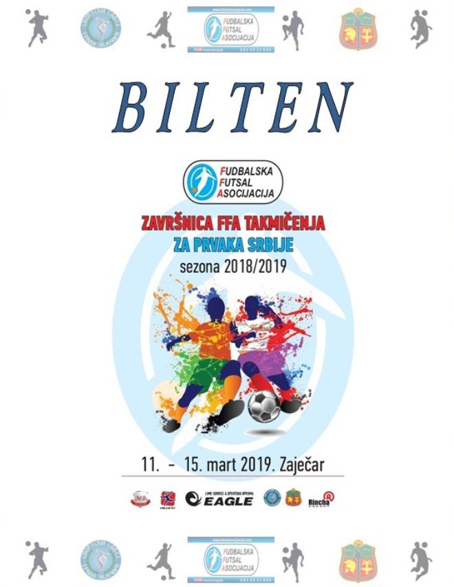 Prvenstvo Srbije u futsalu 2019.