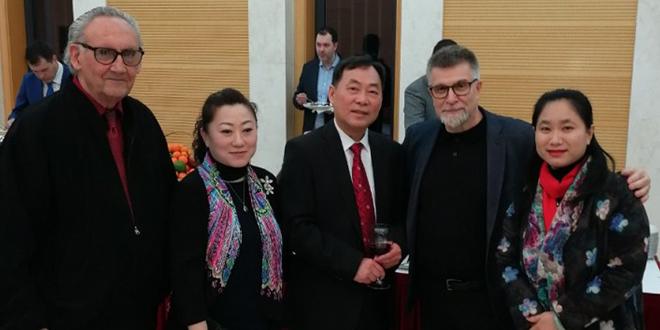 Vladimir Đuričić na prijemu u Ambasadi Narodne Republike Kine