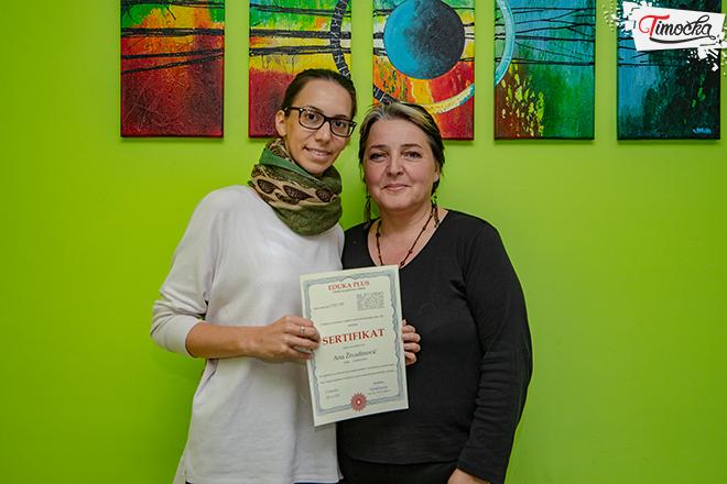 Александра Младеновић и Ана Живадиновић