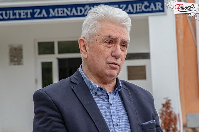 profesor dr Dragan Mihajlović — dekan Fakulteta za menadžment u Zaječaru