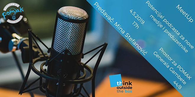 MeetUp — Potencijal podcasta za nove medije i preduzetnike