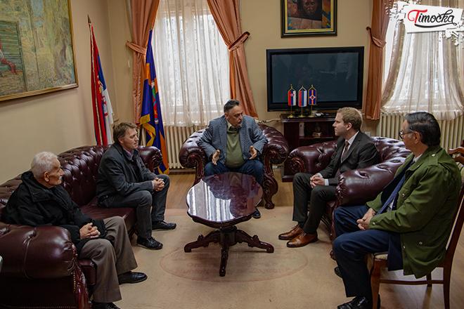 Prijem delegacije ambasade Ruske federacije u Gradsku upravu Zaječar