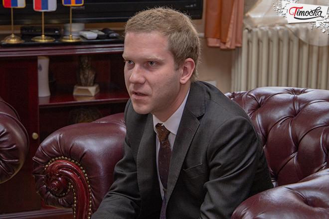 Nikita Sohodolov — ataše ambasade Ruske federacije