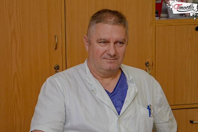 Dragoslav Kalinović — načelnik Odeljenja za ginekologiju i akušertvo ZC Zaječar