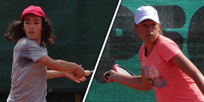 """Teniski turnir """"Otvoreno prvenstvo Timočke Krajine"""" — Pobednici turnira Miloš Miković i Anja Stanković"""