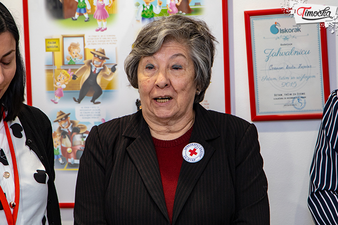 Иванка Јовић — председница Црвеног крста Зајечар