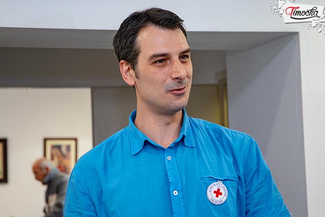 Владан Марковић — секретар Црвеног крста Зајечар