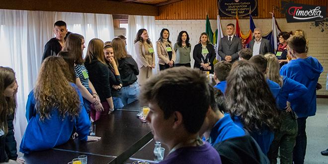 Zaječarski učenici ugostili vršnjake iz Italije