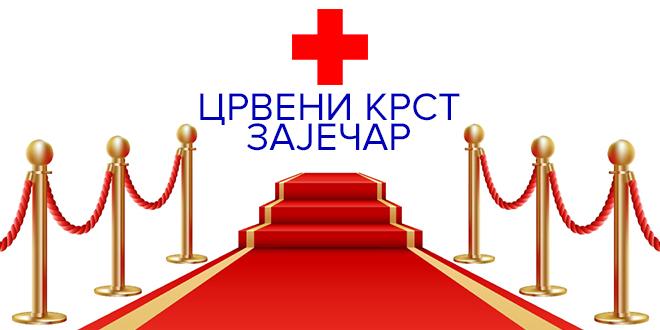 """Crveni krst Zaječar — Kampanja """"Crveni krst – Crveni tepih"""""""