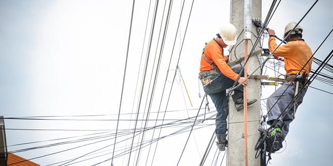 Električari na banderi