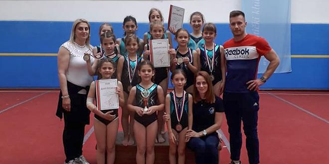 """Gimnastički klub """"Zaječar"""" — I kolo pionirske lige Gimnastičkog saveza jugoistočne Srbije"""