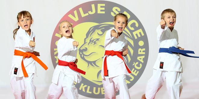 """Karate klub """"Lavlje srce"""" Zaječar — """"Karate zabavištance"""""""