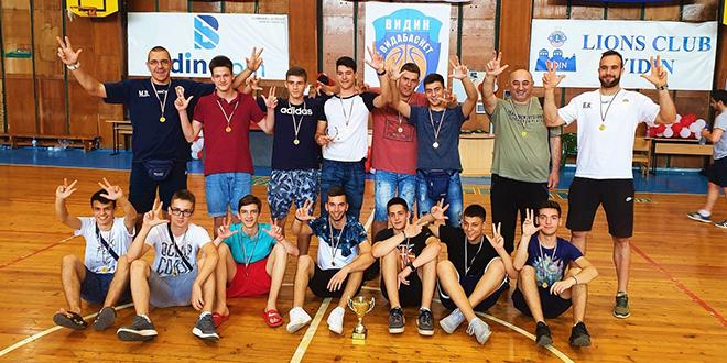 """Košarkaški klub """"Mladost 019"""" — Međunarodni košarkaški turnir """"Dunavski most Vidin–Kalafat"""""""