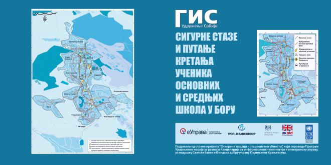 """Projekat """"Sigurne staze i putanje kretanja učenika osnovnih i srednjih škola u Boru"""""""
