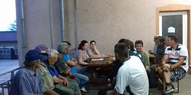 Sastanak sa poljoprivrednicima u Halovu