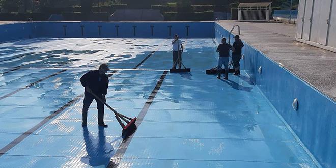 Сређивање градског базена у Зајечару
