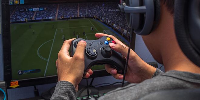 Gejming — Xbox joypad