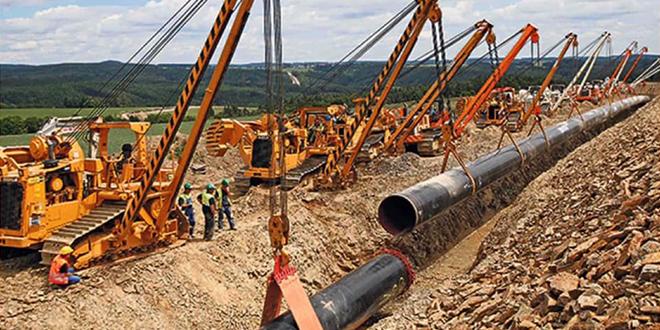 "Izgradnja gasovoda ""Turski tok"""