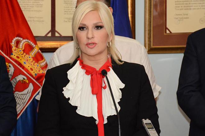 prof. dr Zorana Mihajlović — potpredsednica Vlade Srbije i ministarka GSI