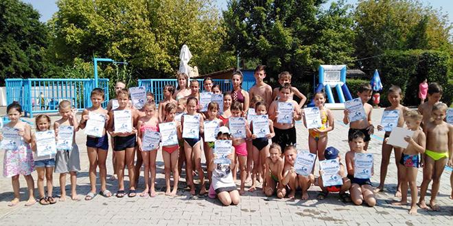 Школа пливања — Градски базен Зајечар