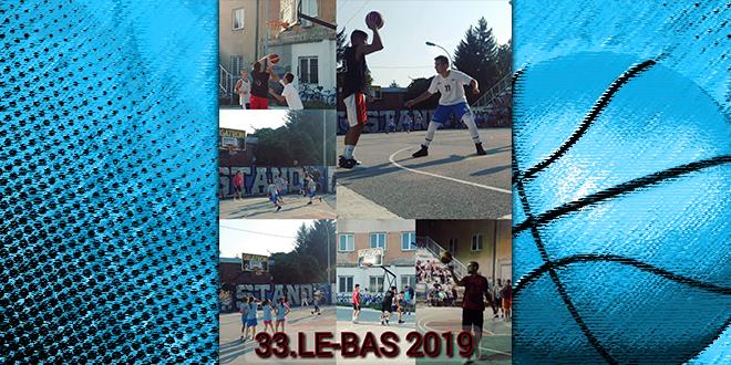 "Turnir u košarci 33. ""LE-BAS"""