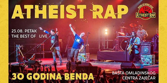 "Бенд ""Atheist Rap"" — Омладински центар Зајечар"