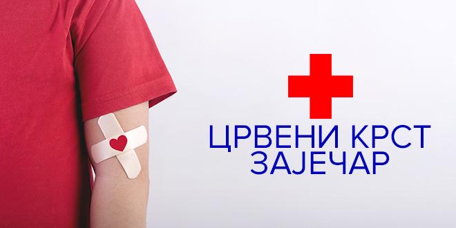 Црвени крст Зајечар — Добровољно давање крви