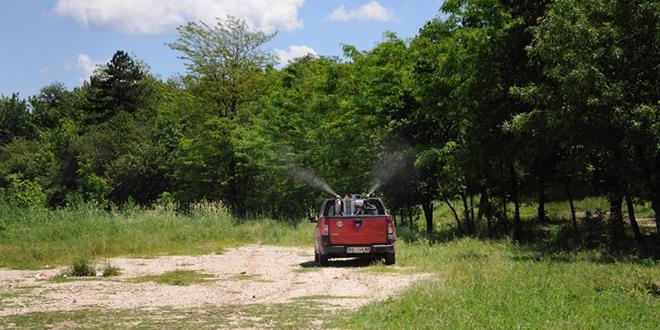 Zaprašivanje radi suzbijanja komaraca