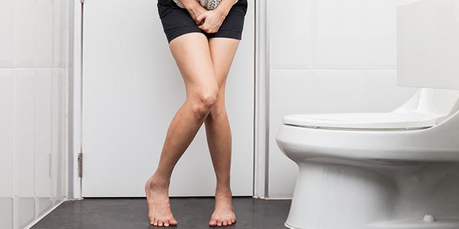 Жена у тоалету