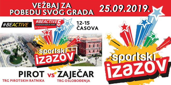 """5. """"Sportski izazov"""" — Zaječar VS Pirot"""