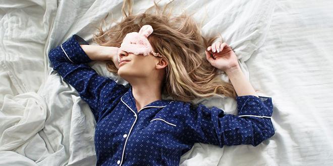 Девојка спава