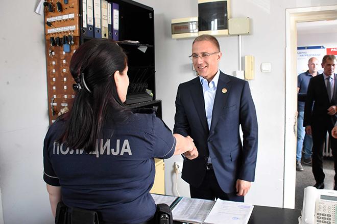 Dr Nebojša Stefanović u poseti Knjaževcu