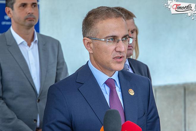 Министар Небојша Стефановић у обиласку Полицијске управе у Зајечару