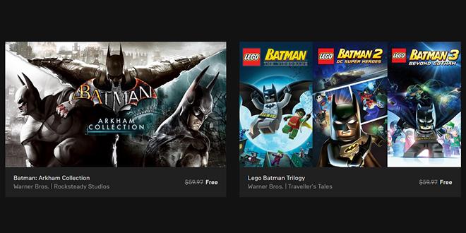 Epic Games — Free Batman Games