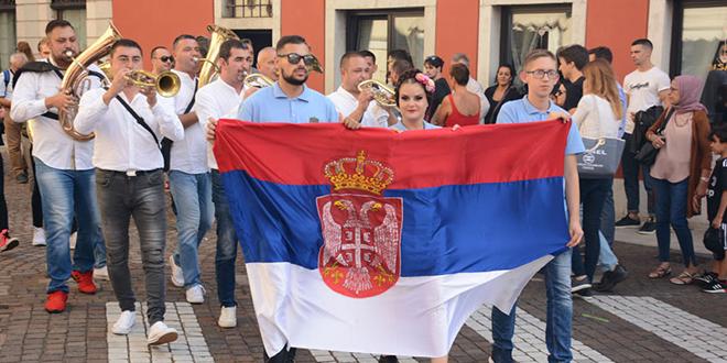 "Gradski folklorni ansambl ""Zora"" — Sajam ""Gusti di frontiera"" u Italiji"