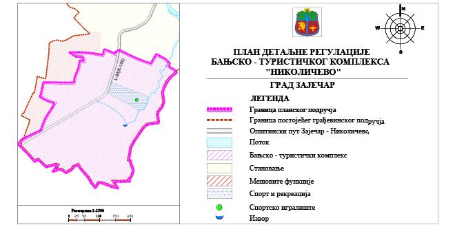 "Plan detaljne regulacije banjsko-turističkog kompleksa ""Nikoličevo"""